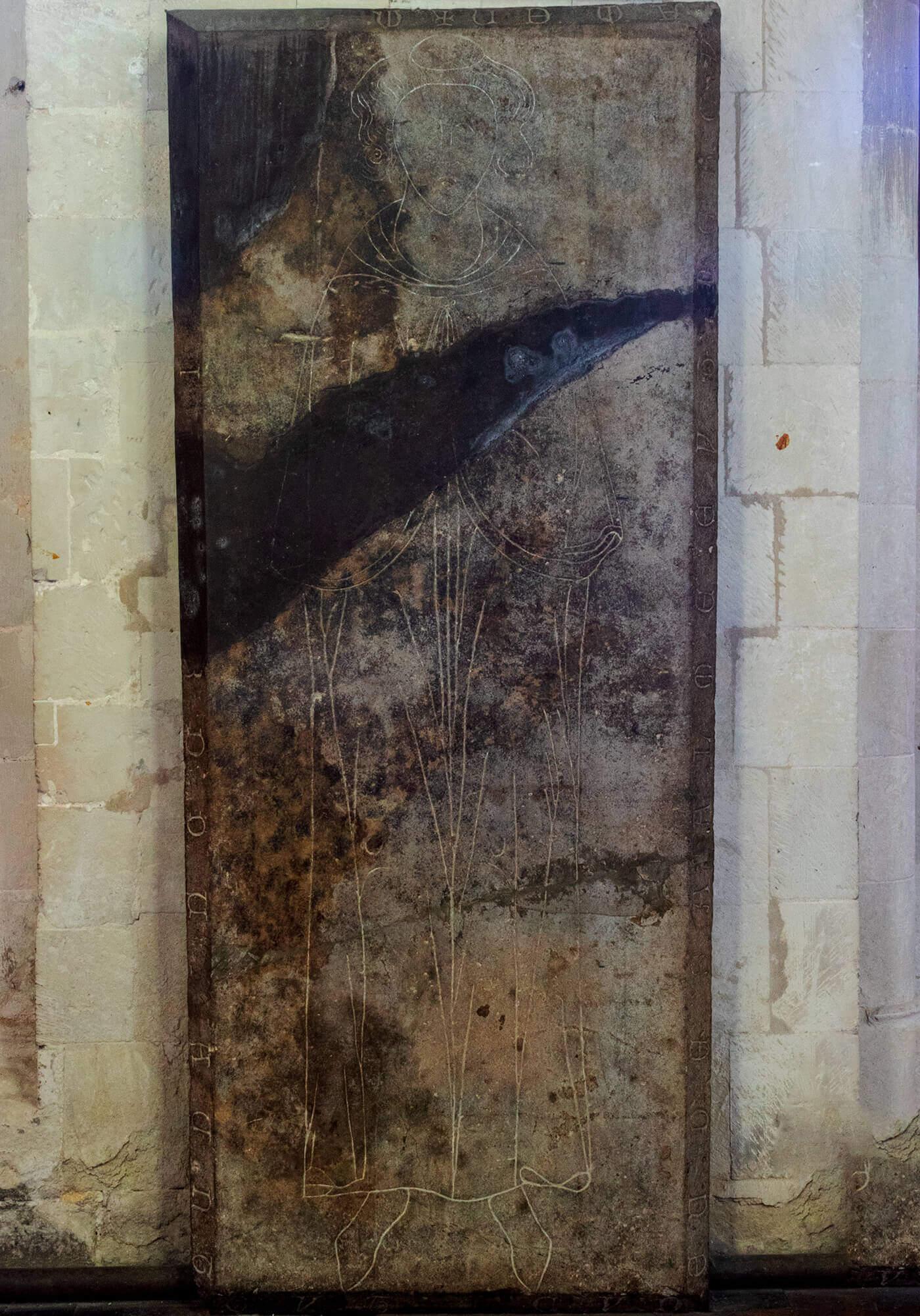 Durant Grave Slab circa late 13th Century