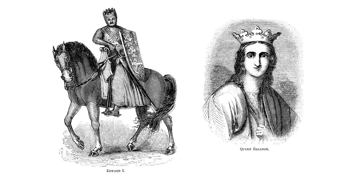 King Edward and Queen Eleanor