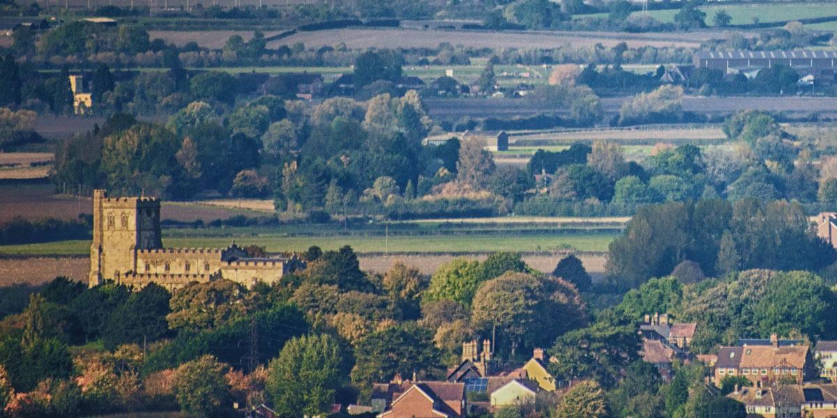 View of Eaton Bray