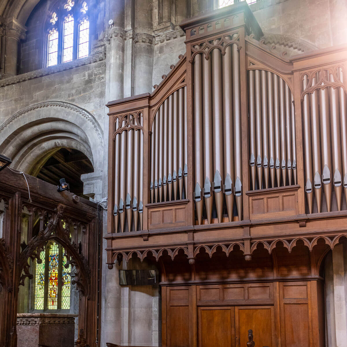 St Peter's Priory Organ